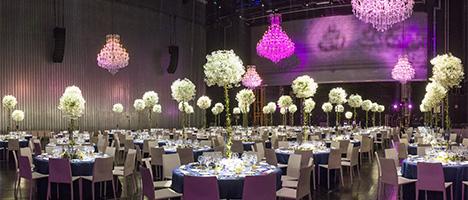 Diner de gala sur le plateau de l'opéra Bastille
